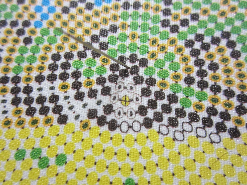Вышивка бисером схемы по кругу 40