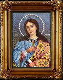Вышивание бисером: Икона Святая Марина