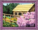 Бисерный набор Сирень у дома