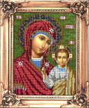Набор для вышивания бисером Казанская икона Божией Матери