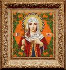 Набор для вышивания бисером: Икона Святая Лариса