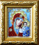 Набор для вышивки бисером Икона БМ Казанская