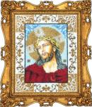 Набор для вышивки бисером Икона Иисус в терновом венце