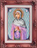 Вышиваем бисером Икона Святая Анна