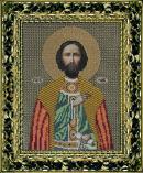 Вышивание бисером: Святой князь Роман
