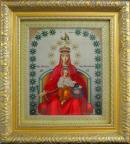 Вышивание бисером: Державная икона Божией Матери