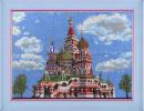 Вышивка бисером Храм Василия Блаженного