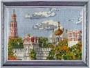 Вышивка бисером Новодевичий монастырь