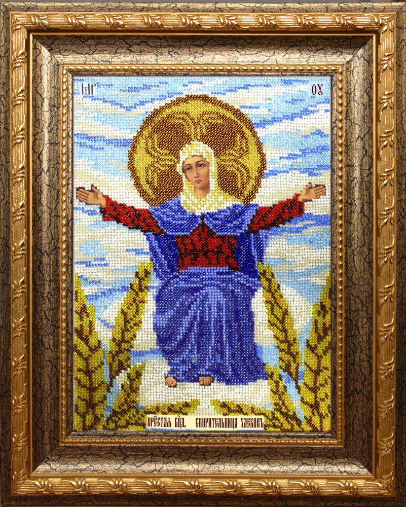 Спорительница хлебов вышивка бисером