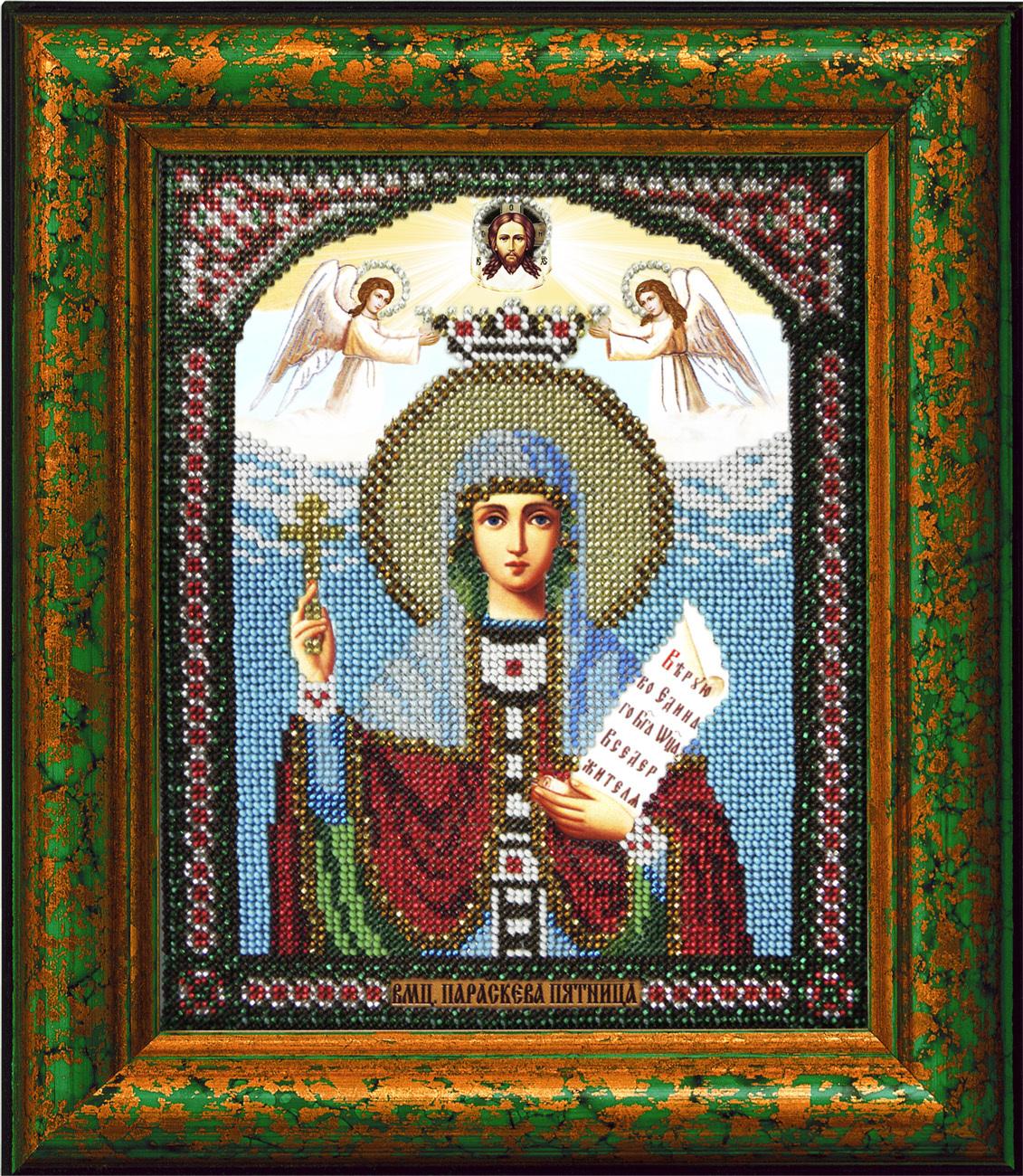 ... : Икона Святая Параскева-Пятница: www.beadicons.ru/catalog/t107.html
